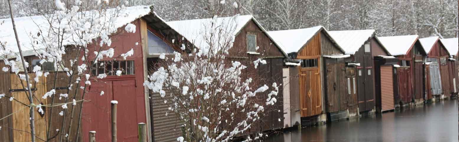 Neubrandenburg im Winter